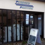 Pendred Printing, front of shop