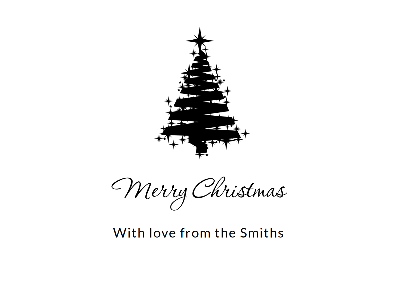 Personalised Christmas Cards Company Business Charity Custom Designs ...