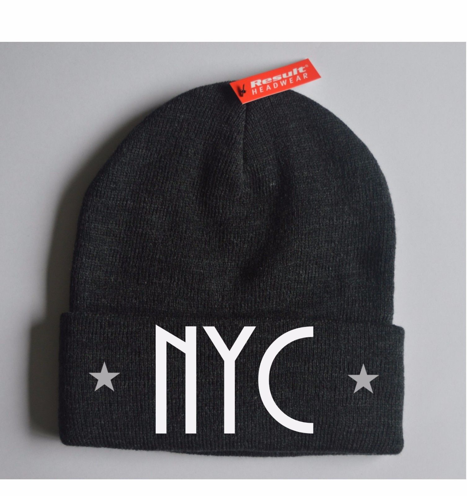 Printed Beanie NYC America USA States Hat Cap Knit Caps New Gift Mens Womens ba8bdef0d7