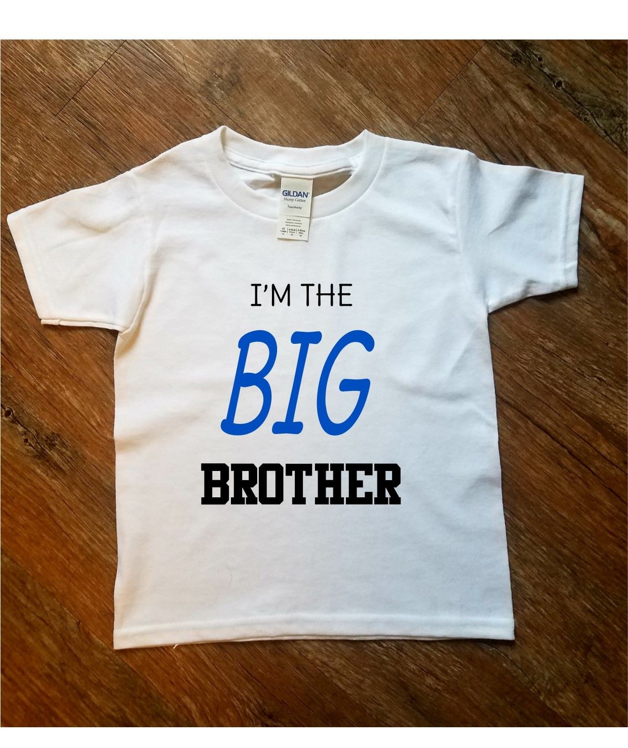 Im Going To Be A Big Brother Kids Printed T-Shirt
